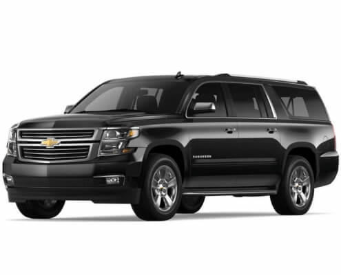 6 Passenger Suburban Luxury SUV - Featured