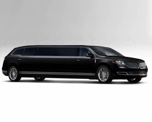 8 Passenger Lincoln MKT Black - Featured