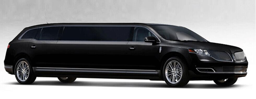 8 Passenger Lincoln MKT Black