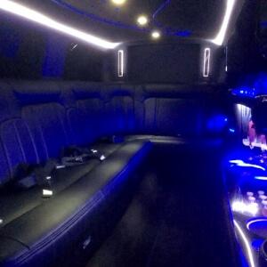 8 Passenger Lincoln MKT Interior
