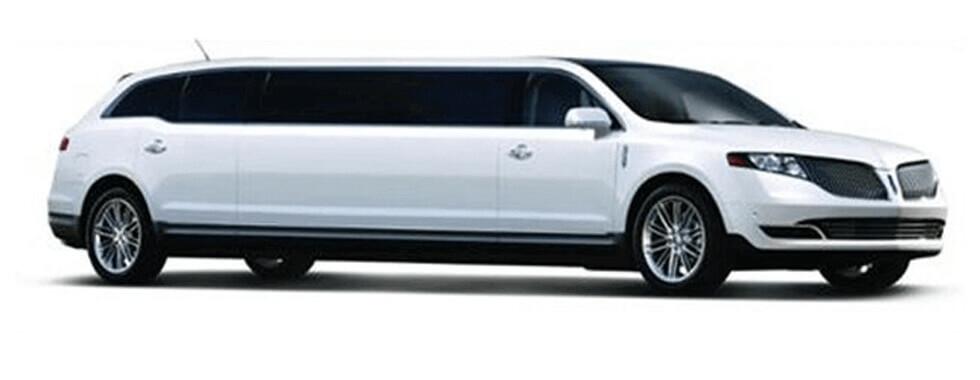 8 Passenger Lincoln MKT White